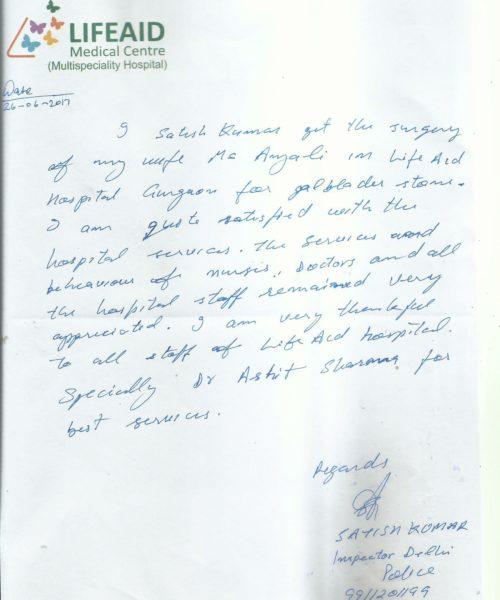 feedback of pt. anjali-1